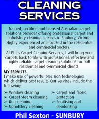 Phil's Carpet Cleaning Services