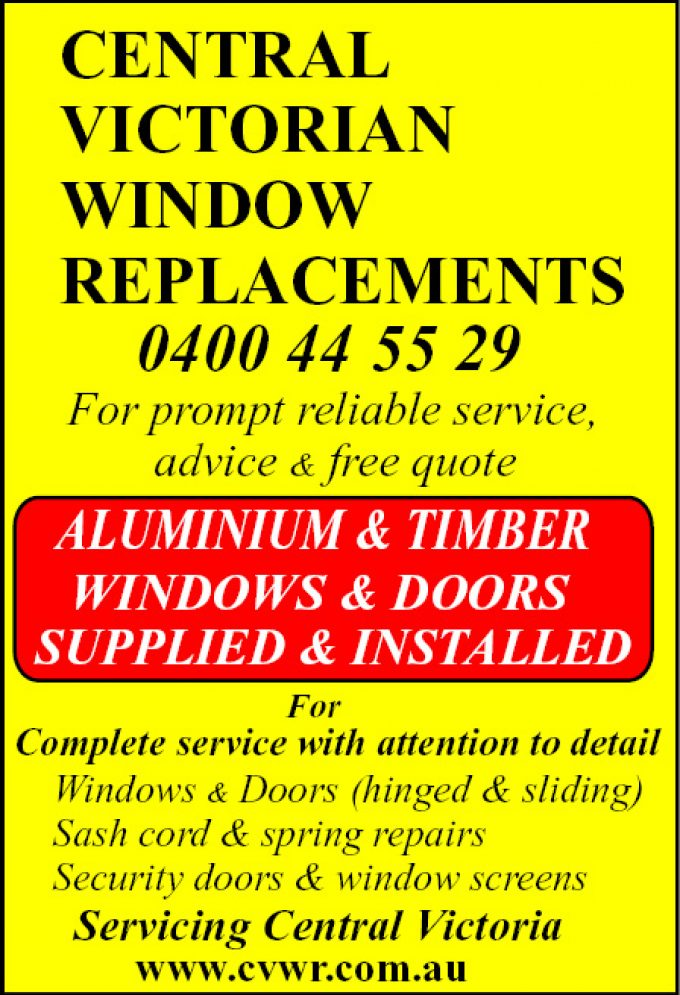 Central Victoria Window Replacements