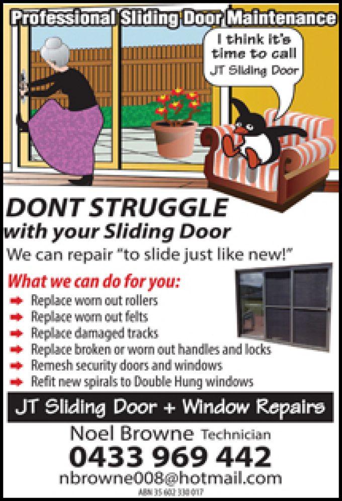 JT Sliding Doors & WIndow Repairs