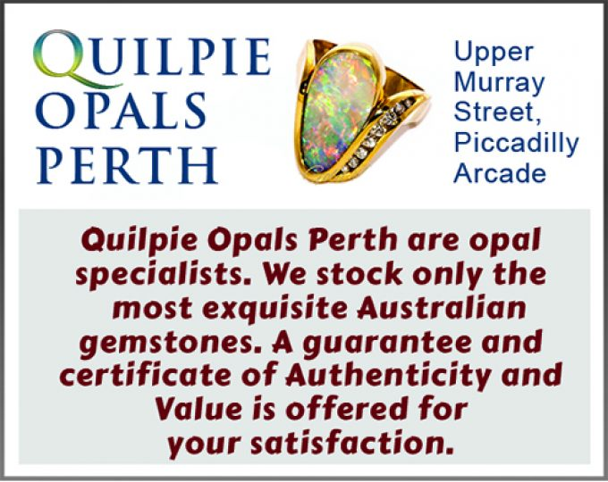 Quilipie Opals perth