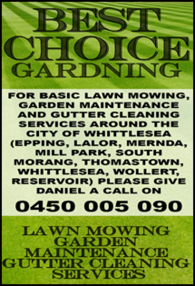 Best Choice Gardening