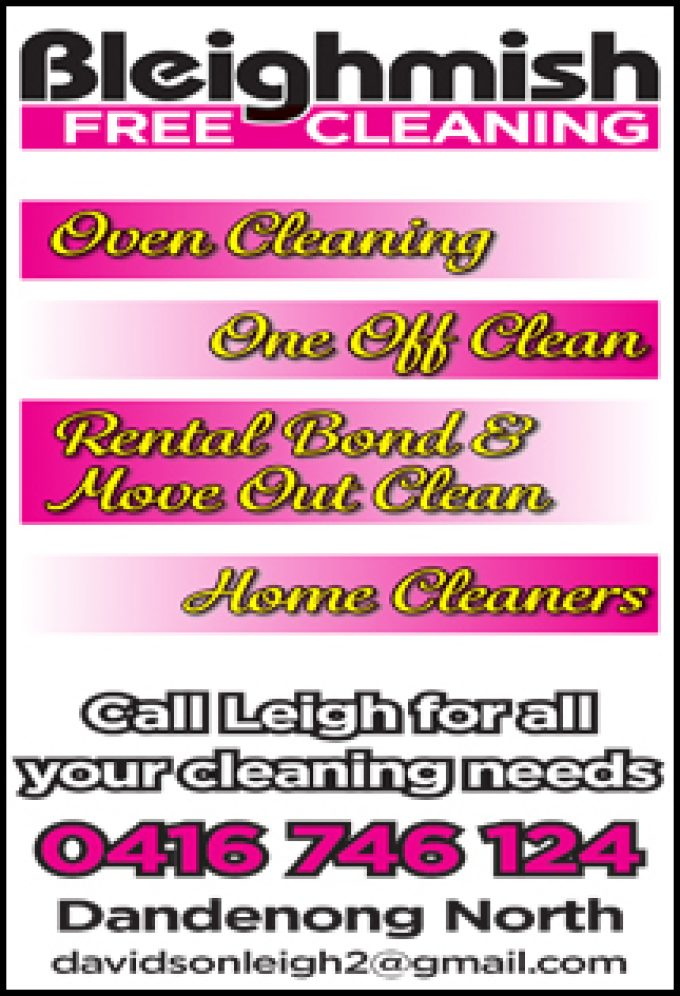 Bleighmish Free Cleaning