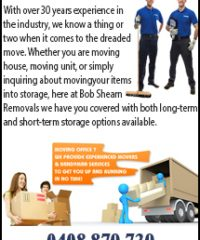 Bob Shearn Removals