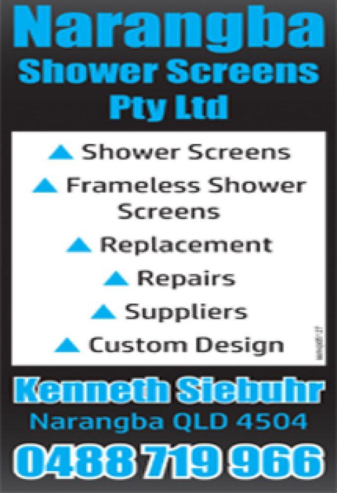 Narangba Shower Screens