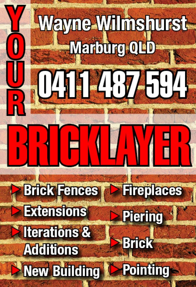 Your Bricklayer