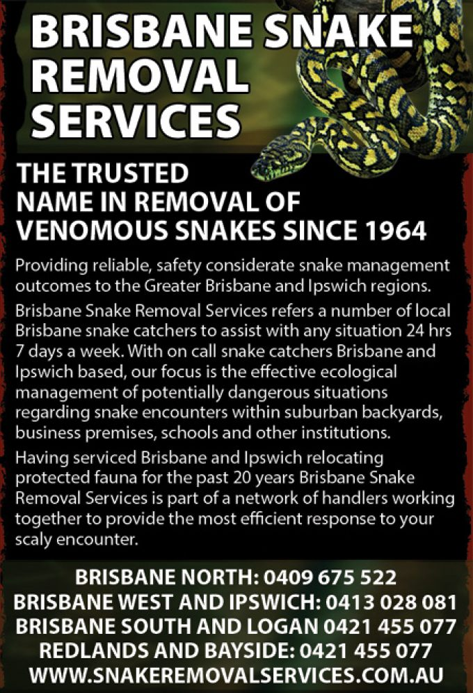 Snake Removal Services