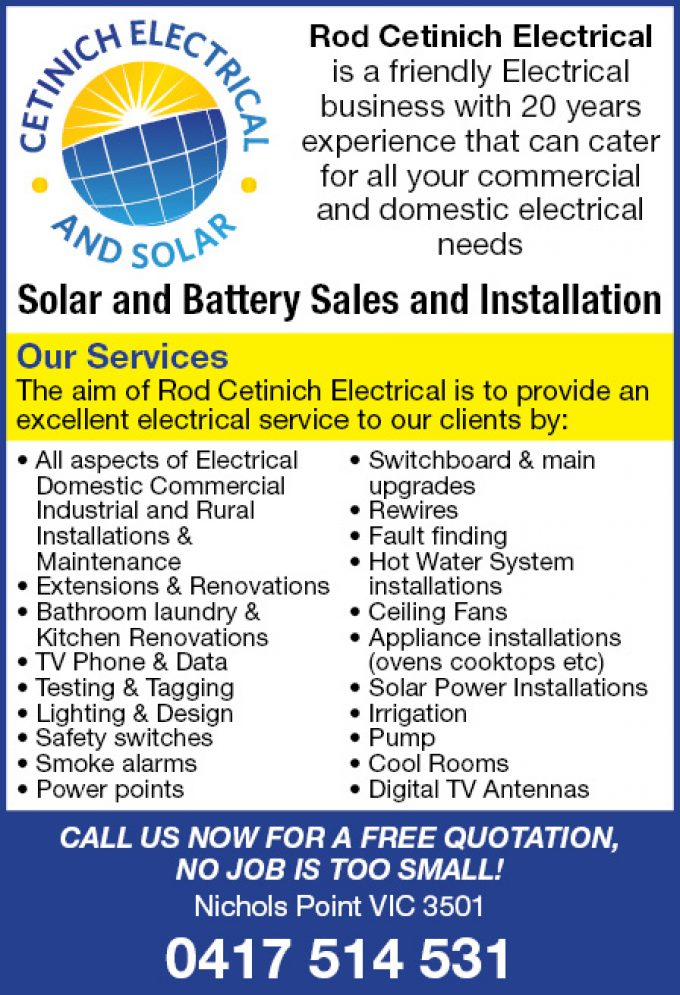 Rod Cetinich Electrical