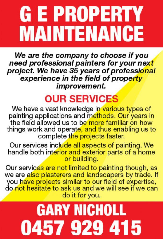 GE Property Maintenance