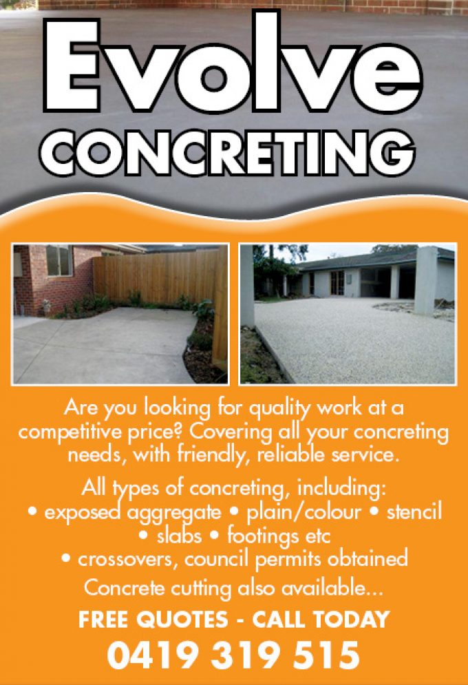 Evolve Concreting