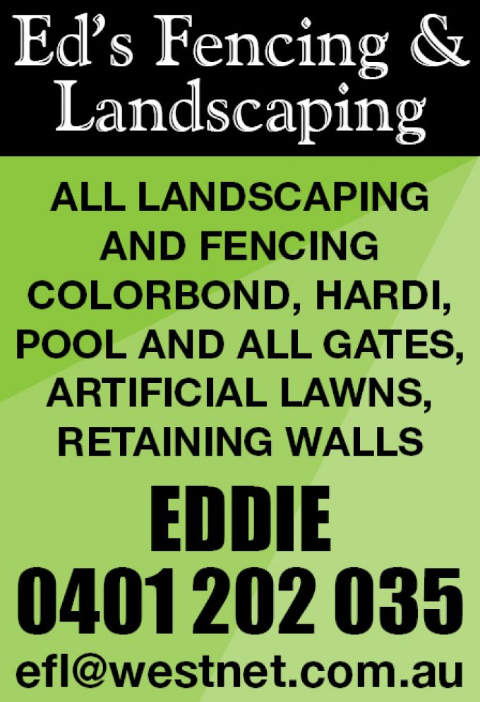 Ed's Fencing & Landscaping