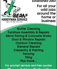 Beans Handyman Service