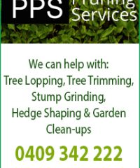 PPS Pruning Services