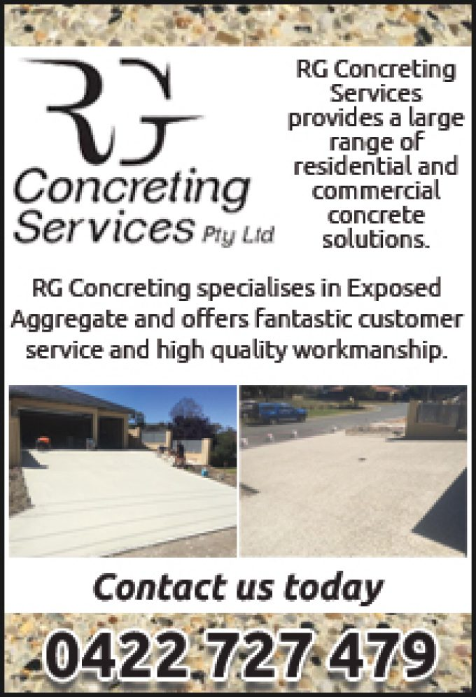 RG Concreting Services
