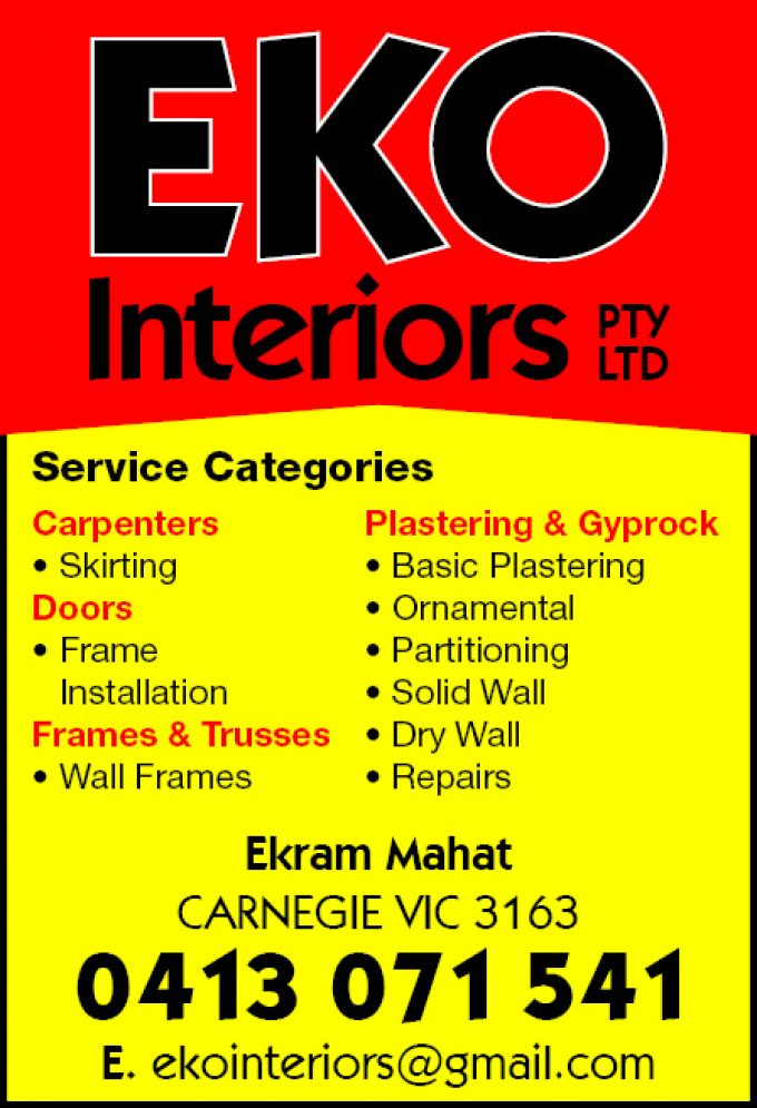 Eko Interiors Pty Ltd
