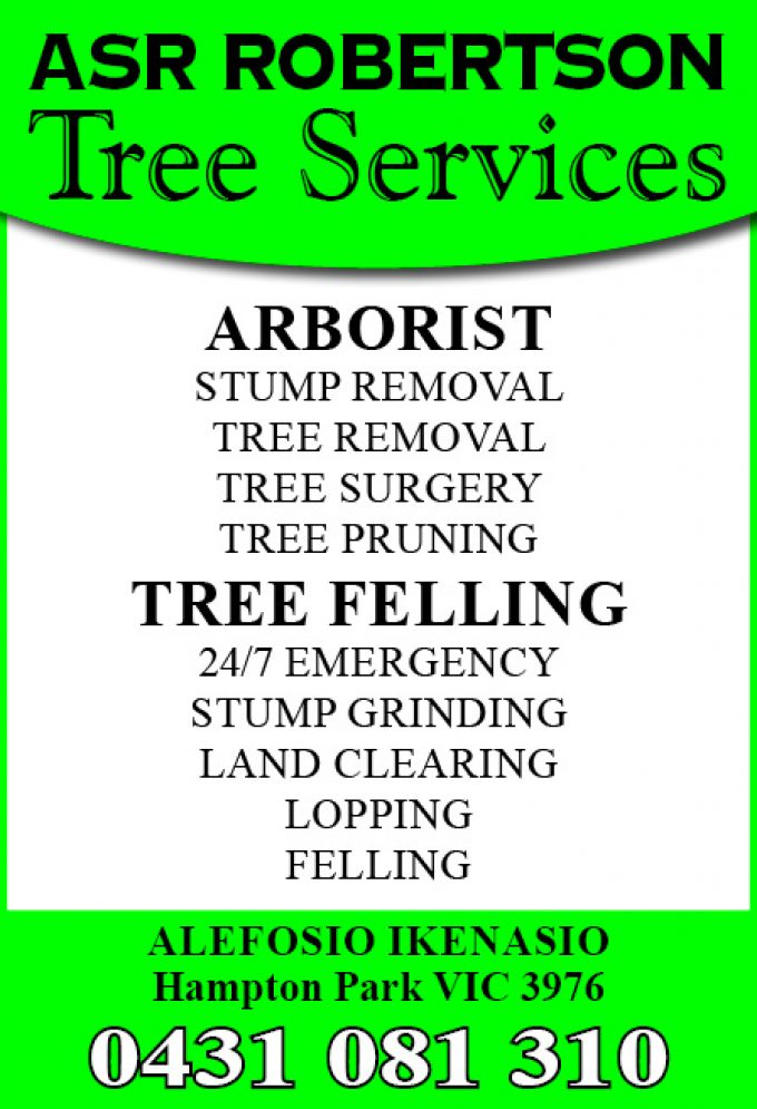 ASR Robertson Tree Services