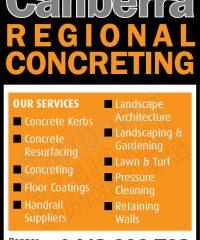 Canberra Regional Concreting