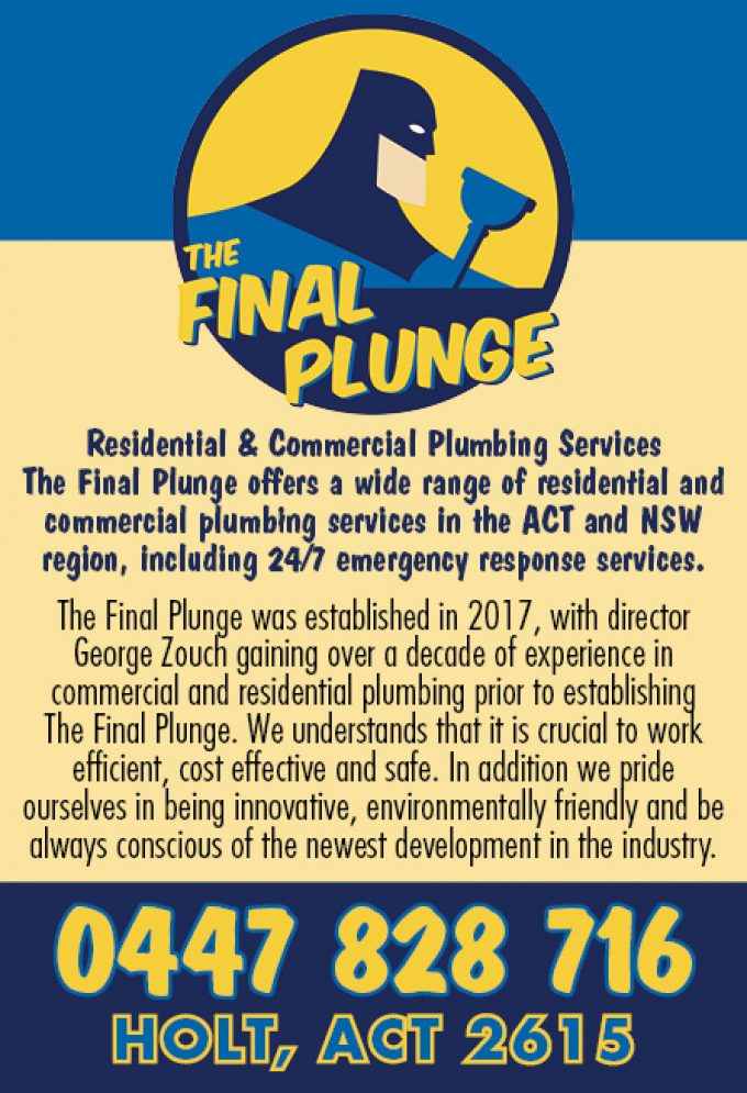 The Final Plunge