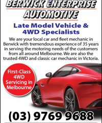 Stuart Murrays Berwick Enterprise Automotive
