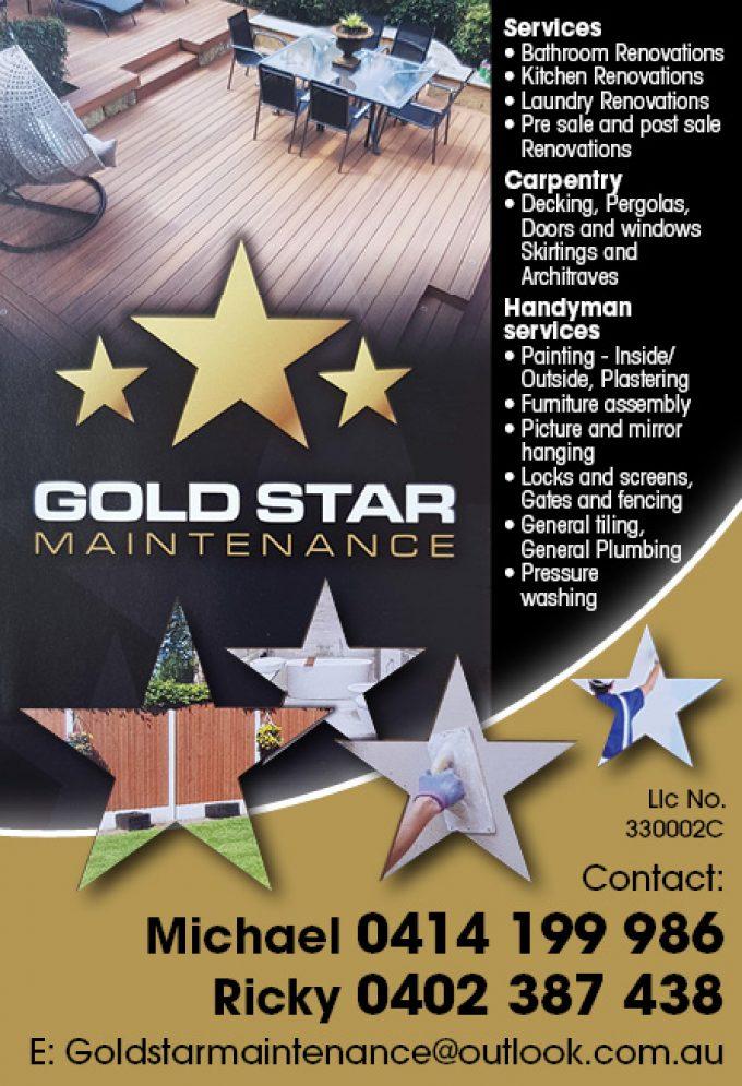 Goldstar Maintenance