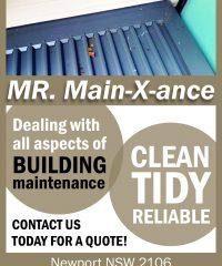 MR. Main-X-ance
