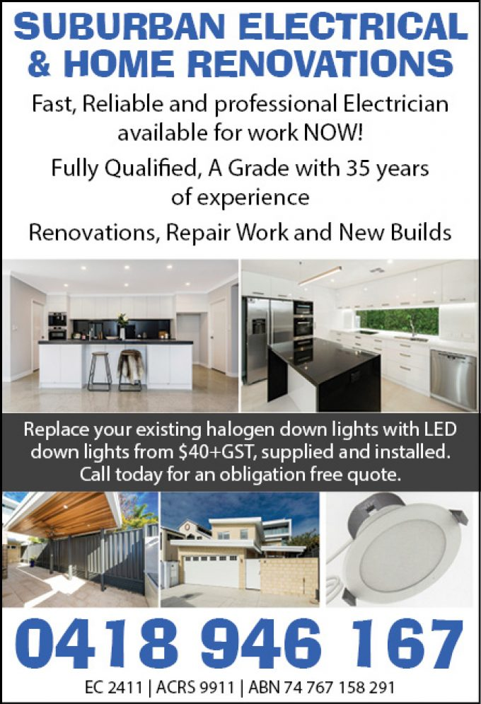Suburban Electrical & Home Renovations