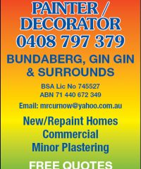 MR Curnow Painter/Decorator
