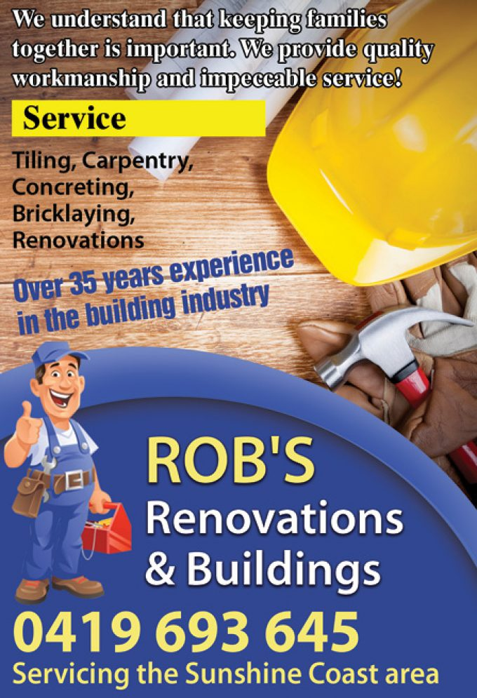 Rob's Renovations & Buildings