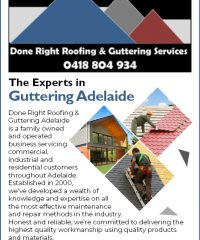 Done Right Roofing & Guttering Services