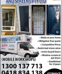 Instant Security Doors & Screens