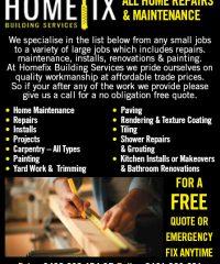 Homefix Building Services