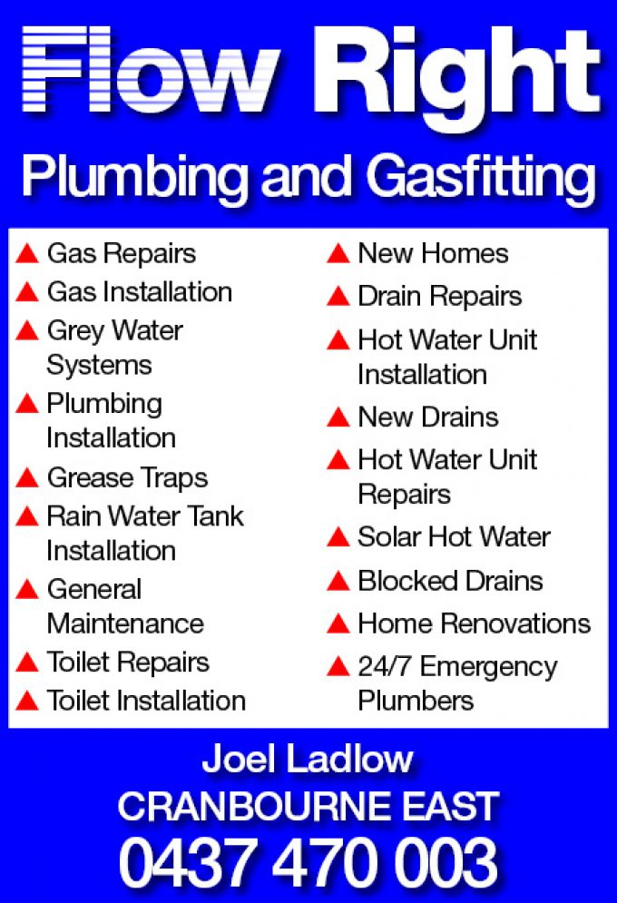 Flow Right Plumbing and Gasfitting