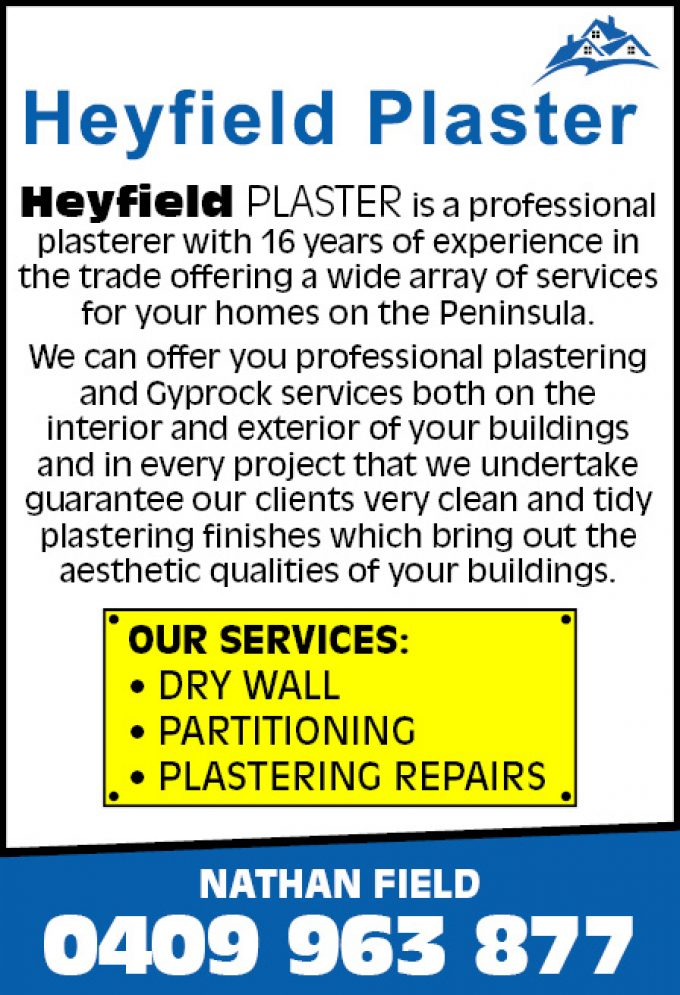 Heyfield Plaster