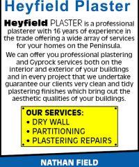 Heyfield Plaster
