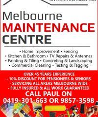 Melbourne Maintenance Centre
