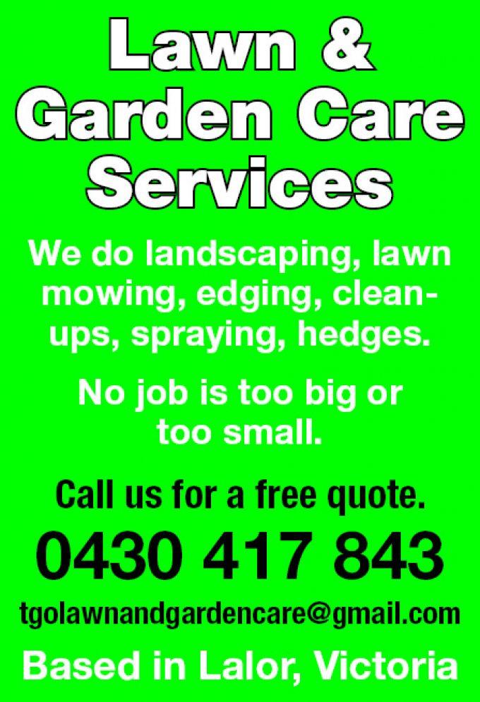 Lawn & Garden Care Services