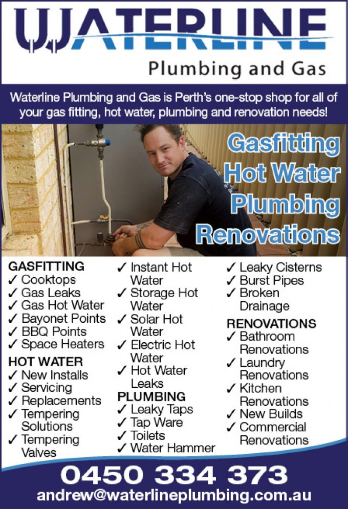 Waterline Plumbing and Gas