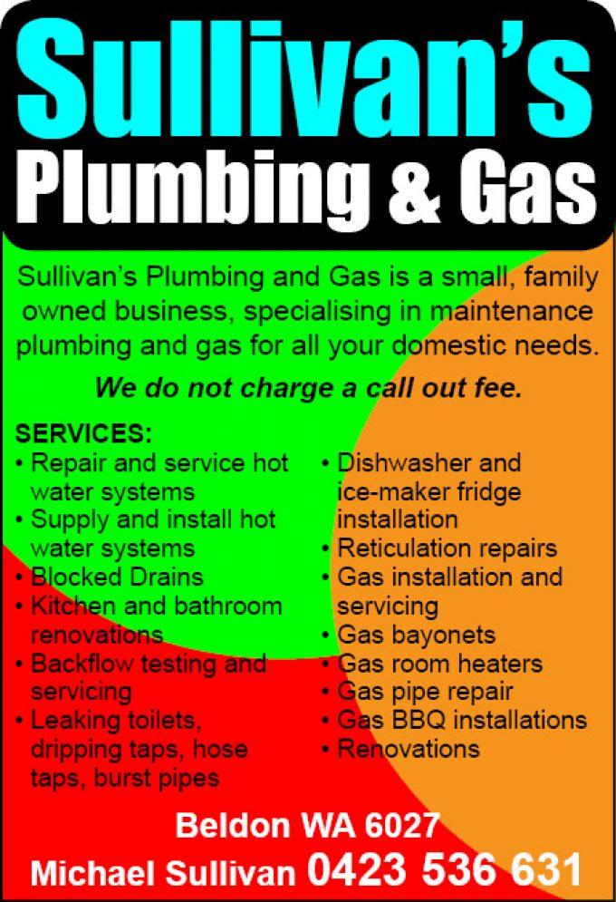 Sullivan's Plumbing & Gas