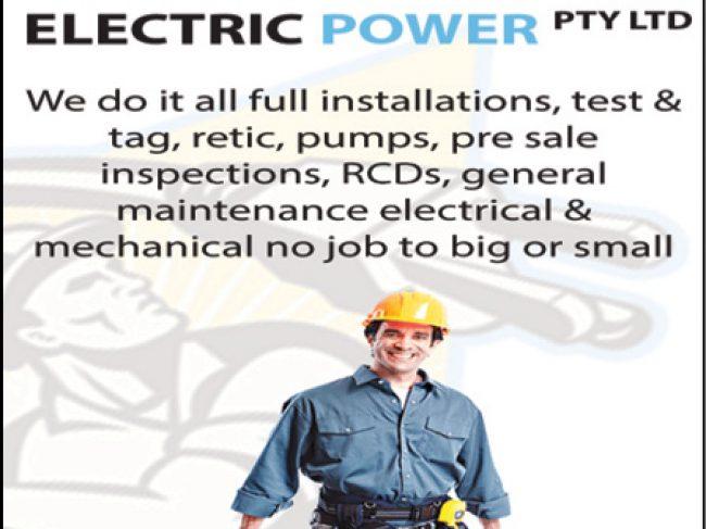 Electric Power Pty Ltd