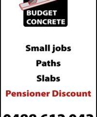 Budget Concrete