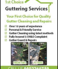 First Choice Gutter Service