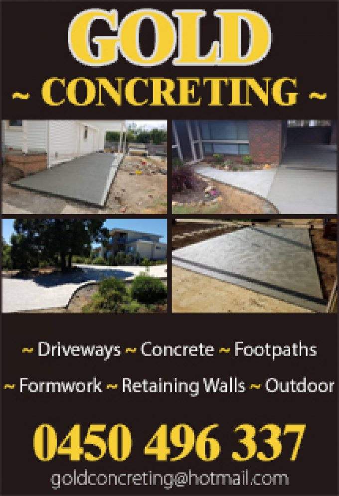 Gold Concreting