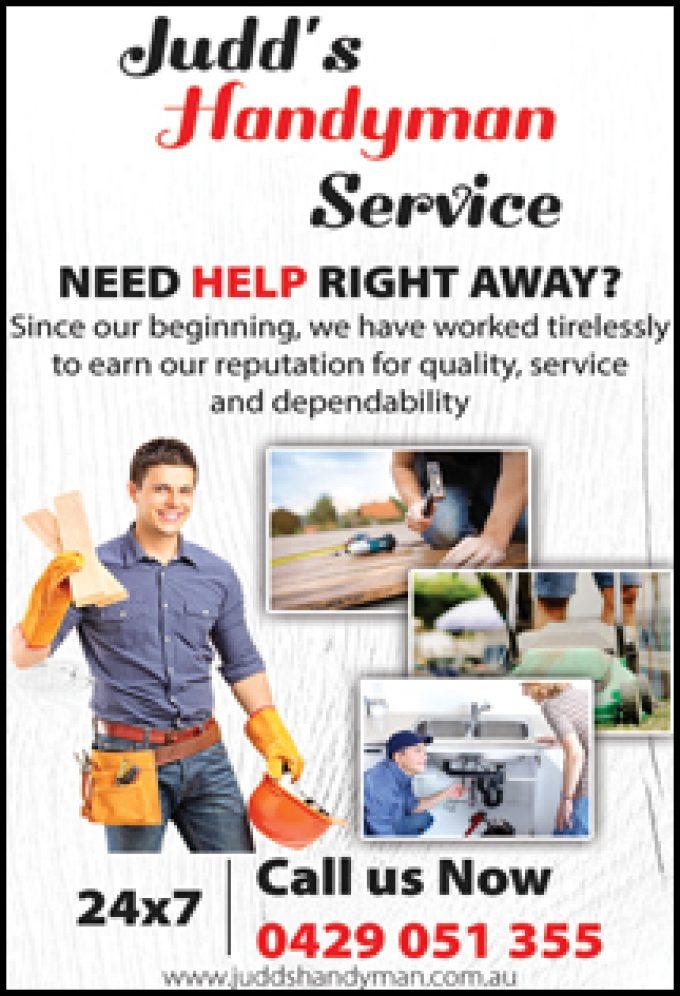 Judds Handyman Service