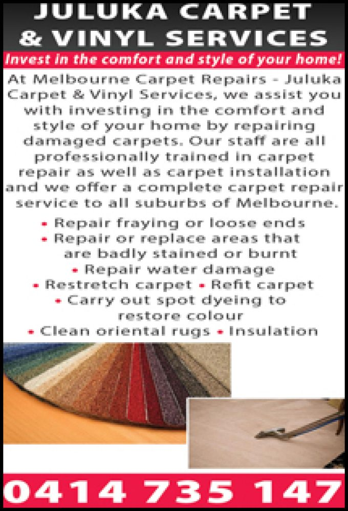 Juluka Carpet & Vinyl Services