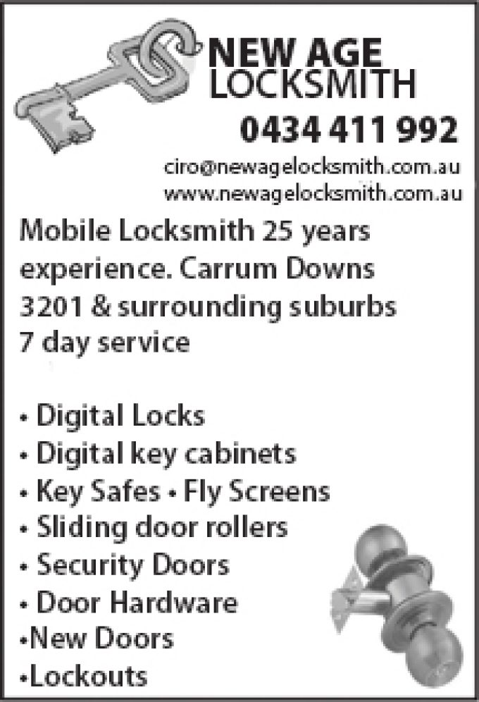 New Age Locksmith