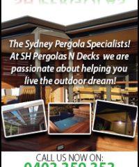 SH Pergolas & Decks, Carports
