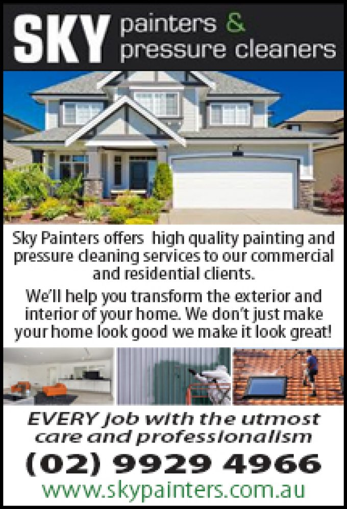 Sky Painters & Pressure Cleaners
