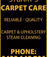 Stuart's Carpet Care