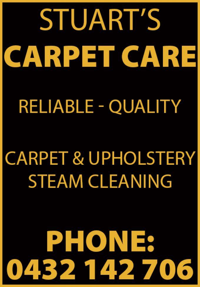 Stuart's Carpet Care