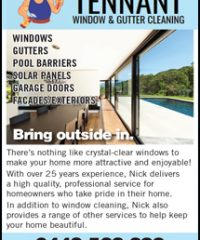 TENNANT  WINDOW & GUTTER CLEANING