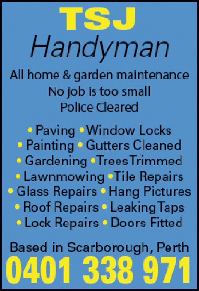 TSJ Handyman